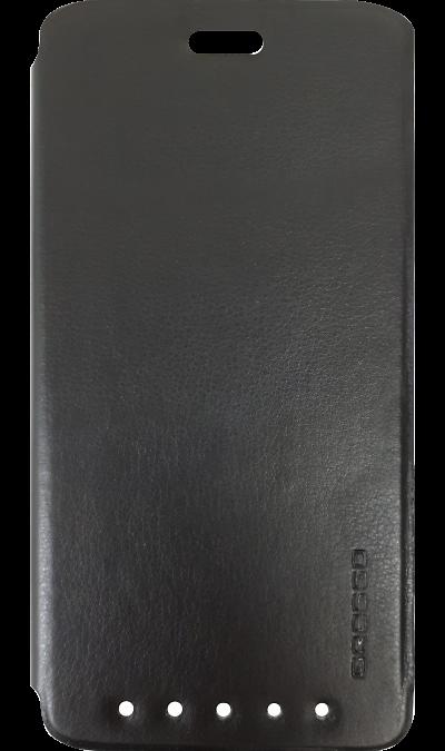 Чехол-книжка Gresso для ZTE Axon 7 mini, полиуретан, черныйЧехлы и сумочки<br>Удобный чехол для для ZTE Axon 7 mini поможет не только защитить ваш смартфон от повреждений, но и сделает обращение с ним более удобным, а сам аппарат будет выглядеть еще более элегантным.<br><br>Colour: Черный