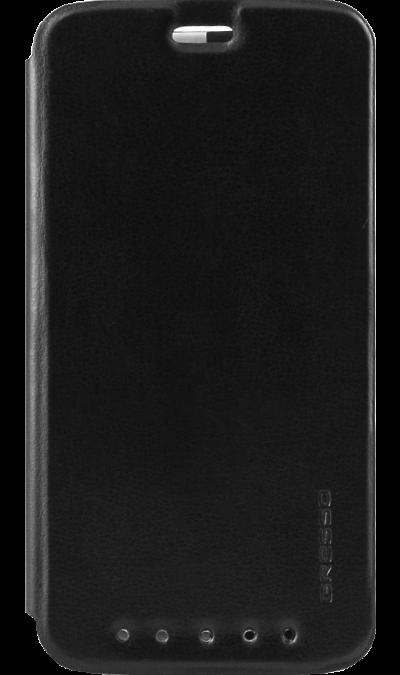 Gresso Чехол-книжка Gresso Absolut Air для ZTE Axon 7, кожзам, черный gresso чехол книжка gresso альбион samsung galaxy tab 4 7 black
