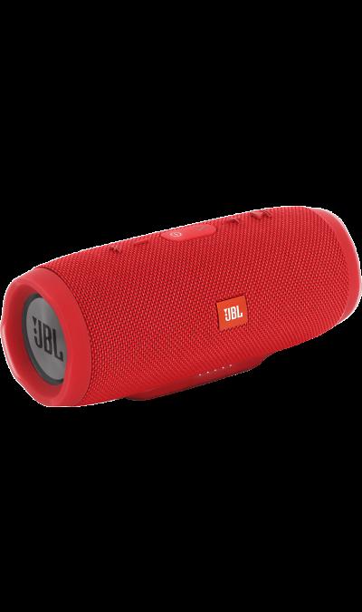 JBL Charge 3 RedПортативная акустика<br>Уникальная беспроводная портативная акустическая система JBL Charge 3 гарантирует мощный стерео-звук и источник энергии в одном устройстве.<br><br>Благодаря водонепроницаемому прорезиненному тканевому корпусу, вечеринку с Charge 3 можно устроить в любом месте- у бассейна и даже под дождем. Аккумулятор высокой емкости на 6000 мАч гарантирует бесперебойную работу в течение 20 часов и позволяет заряжать смартфоны и планшеты по USB. Встроенный микрофон с шумо- и эхоподавлением гарантирует идеально ...<br><br>Colour: Красный