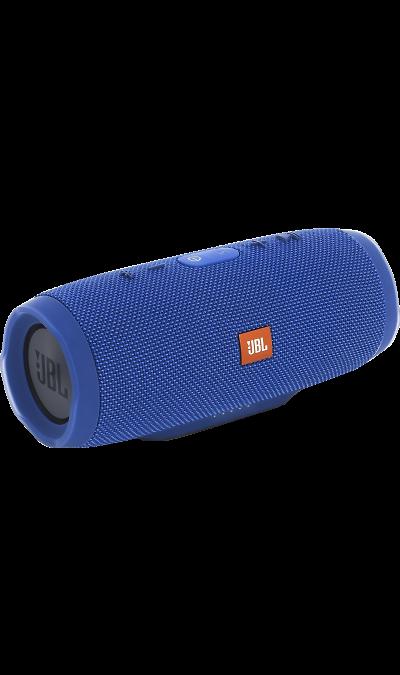 JBL Charge 3 BlueПортативная акустика<br>Уникальная беспроводная портативная акустическая система JBL Charge 3 гарантирует мощный стерео-звук и источник энергии в одном устройстве.<br><br>Благодаря водонепроницаемому прорезиненному тканевому корпусу, вечеринку с Charge 3 можно устроить в любом месте- у бассейна и даже под дождем. Аккумулятор высокой емкости на 6000 мАч гарантирует бесперебойную работу в течение 20 часов и позволяет заряжать смартфоны и планшеты по USB. Встроенный микрофон с шумо- и эхоподавлением гарантирует идеально ...<br><br>Colour: Голубой
