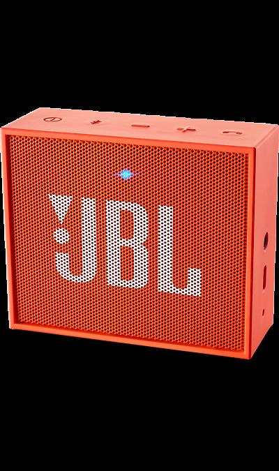 JBL GOПортативная акустика<br>JBL GO - везде должен быть только качественный звук!<br><br>Этот динамик является удобным решением всё-в-одном. Он поддерживает Bluetooth, что позволяет подключать его к любым современным гаджетам, а встроенный аккумулятор подарит вам 5 часов музыки без перерыва. JBL GO также оснащен встроенным микрофоном с технологией шумоподавления, что позволяет вам общаться по телефону по громкой связи.<br><br>Доступный в 8 ярких расцветках, в прорезиненном корпусе и фирменном стиле JBL, этот портативный ...<br><br>Colour: Оранжевый