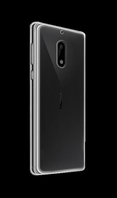 Nokia Чехол-крышка Nokia для Nokia 5, силикон, прозрачный nokia чехол книжка nokia для nokia 5 кожзам черный
