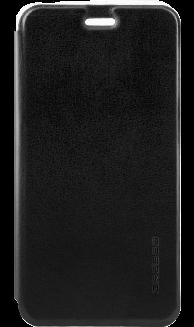 Gresso Чехол-книжка Gresso Absolut Air для ZTE V8, кожзам, черный gresso чехол книжка gresso absolut air для zte axon 7 mini кожзам золотистый