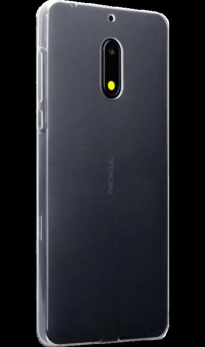 Чехол-крышка Inter-Step для Nokia 6, силиконЧехлы и сумочки<br>Чехол поможет не только защитить ваш смартфон от повреждений, но и сделает обращение с ним более удобным, а сам аппарат будет выглядеть еще более элегантным.<br>