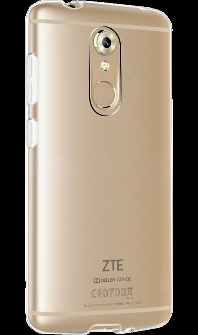 Gresso Чехол-крышка Gresso для ZTE Axon 7 mini, силикон, прозрачный сотовый телефон zte axon 7 64gb gold