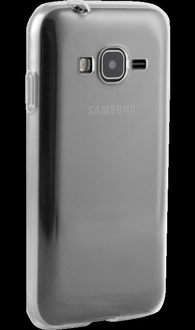 Чехол-крышка Ibox Crystal для Samsung Galaxy J1 mini Prime (J106), силикон, прозрачныйЧехлы и сумочки<br>Чехол Inter-Step поможет не только защитить ваш Samsung Galaxy J1 Mini Prime от повреждений, но и сделает обращение с ним более удобным, а сам аппарат будет выглядеть еще более элегантным.<br>