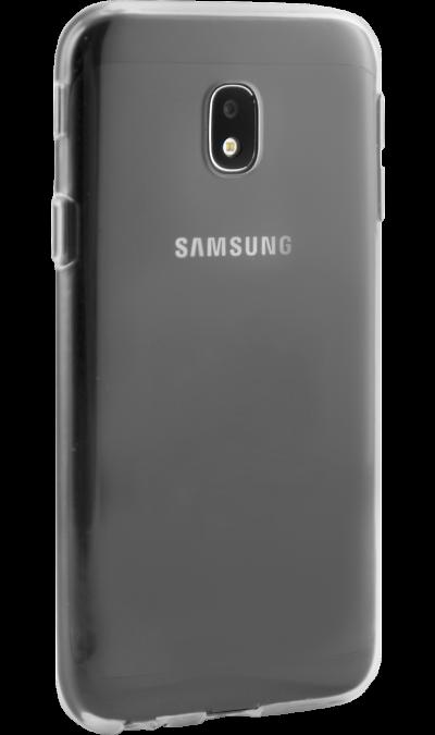 Чехол-крышка RedLine для Samsung Galaxy J3 (2017), силикон, прозрачныйЧехлы и сумочки<br>Чехол Samsung поможет не только защитить ваш Samsung Galaxy J3 (2016) от повреждений, но и сделает обращение с ним более удобным, а сам аппарат будет выглядеть еще более элегантным.<br>