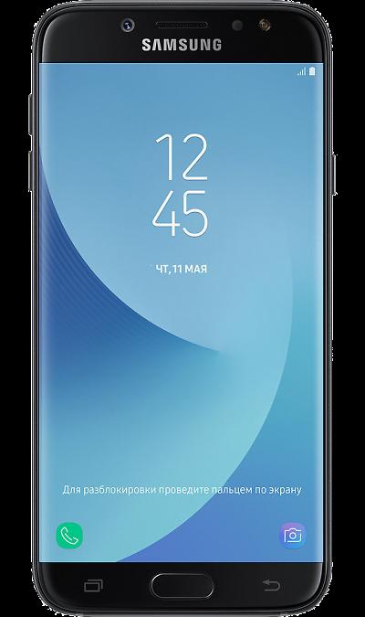 Samsung Galaxy J7 (2017)Смартфоны<br>2G, 3G, 4G, Wi-Fi; ОС Android; Дисплей сенсорный емкостный 16,7 млн цв. 5.5; Камера 13 Mpix, AF; Разъем для карт памяти; MP3, FM,  BEIDOU / GPS / ГЛОНАСС; Вес 181 г.<br><br>Colour: Черный