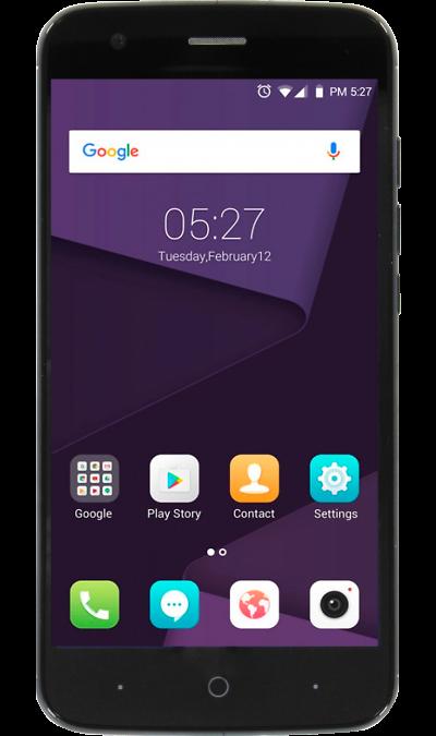 ZTE ZTE Blade V8 Lite Blue смартфон zte blade a510 серый 5 8 гб lte wi fi gps 3g