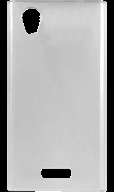 все цены на  Highscreen Чехол-крышка Highscreen для Highscreen Razar, силикон, прозрачный  онлайн