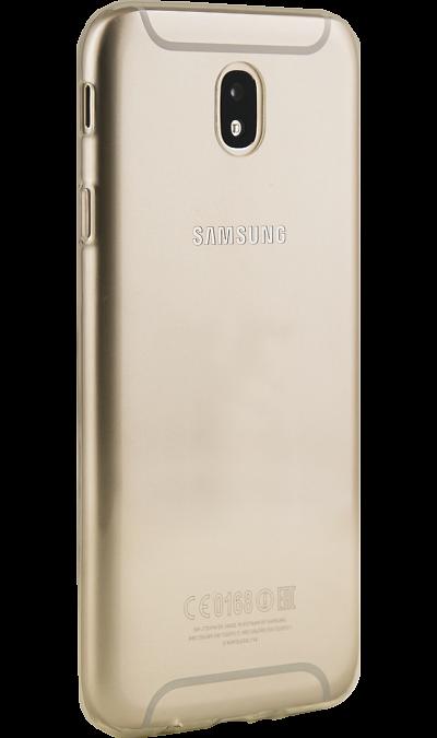 Inter-Step Чехол-крышка Inter-Step для Samsung Galaxy J7 (2017), силикон, прозрачный чехол для samsung galaxy tab e 9 6 inter step steve white