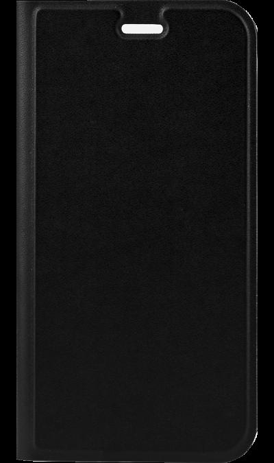 Gresso Чехол-книжка Gresso для ZTE V8 Lite, кожзам, черный (с отделением для кредитных карт) gresso чехол книжка gresso для zte axon 7 mini полиуретан черный