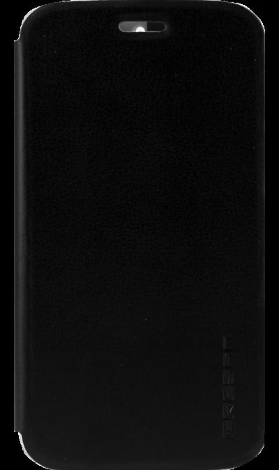 Gresso Чехол-книжка Gresso для Moto E4 Absolut Air, кожзам, черный gresso чехол книжка gresso absolut air для zte axon 7 mini кожзам золотистый