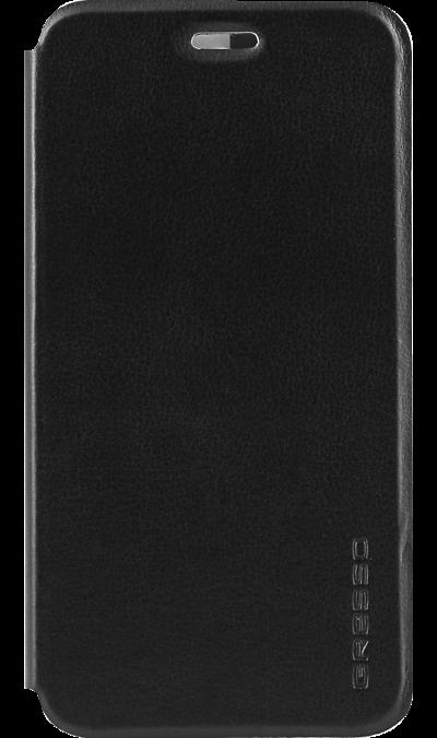 Чехол-книжка Gresso для Moto E4+ Absolut Air, кожзам, черныйЧехлы и сумочки<br>Оденьте ваш Moto E4+ в стильный чехол. Сочетание эксклюзивного дизайна и высокой степени защиты.<br><br>Стильный и невероятно прочный;<br>Выполнен из материалов высокого качества;<br>Практически не увеличивает размеры смартфона;<br>Полный доступ к портам и элементам управления.<br><br>Colour: Черный