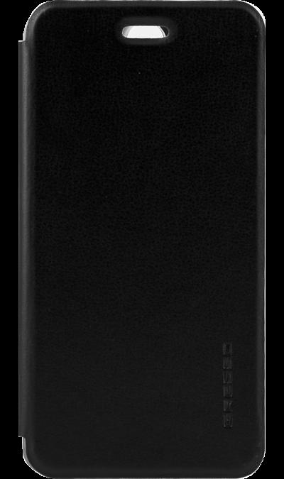 Чехол-книжка Gresso Absolut Air для Lenovo Vibe S1, кожзам, черный