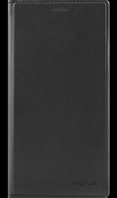 Чехол-книжка Nokia для Nokia 3, кожзам, черныйЧехлы и сумочки<br>Элегантный чехол-книжка для Nokia Lumia 3. Прекрасно защитит ваш телефон от ударов, царапин и трещин.<br><br>Colour: Черный