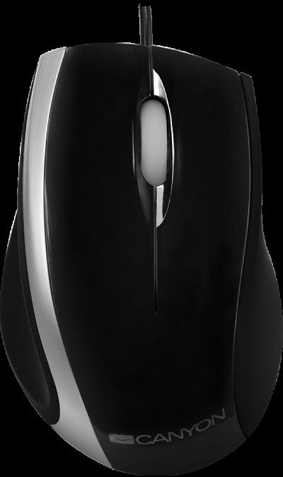 Мышь Canyon CNR-MSO01N Black / GreyМыши<br>Эргономичный дизайн<br>Оптическая мышь 800 dpi<br>Прокрутка с голубой подсветкой<br>USB-интерфейс<br>Совместима с Windows 2000/XP/Vista/7<br><br>Эта стильная мышка обладает оптическим сенсором и разрешением 800 dpi. Благодаря эргономическому дизайну мышь CNR-MSO01x обеспечивает комфортную работу, точный контроль за перемещениями и плавность движений. Надежная, удобная, USB-мышь отвечает всем рабочим требованиям. Вы можете подобрать ту модель, которая лучше всего сочетается с вашим ...<br><br>Colour: Черный