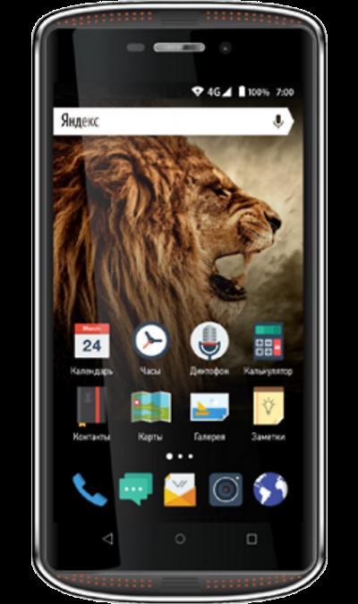 VERTEX Impress TorСмартфоны<br>2G, 3G, 4G, Wi-Fi; ОС Android; Дисплей сенсорный емкостный 16,7 млн цв. 5; Камера 13 Mpix, AF; Разъем для карт памяти; MP3, FM,  GPS / ГЛОНАСС; Повышенная защита корпуса; Время работы 220 ч. / 7.5 ч.; Вес 184 г.<br><br>Colour: Черный