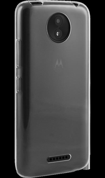 Чехол-крышка Inter-Step  IS Slender для Motorola Moto C+, силикон, прозрачныйЧехлы и сумочки<br>Чехол Inter-Step поможет не только защитить ваш Motorola Moto C+  от повреждений, но и сделает обращение с ним более удобным, а сам аппарат будет выглядеть еще более элегантным.<br>