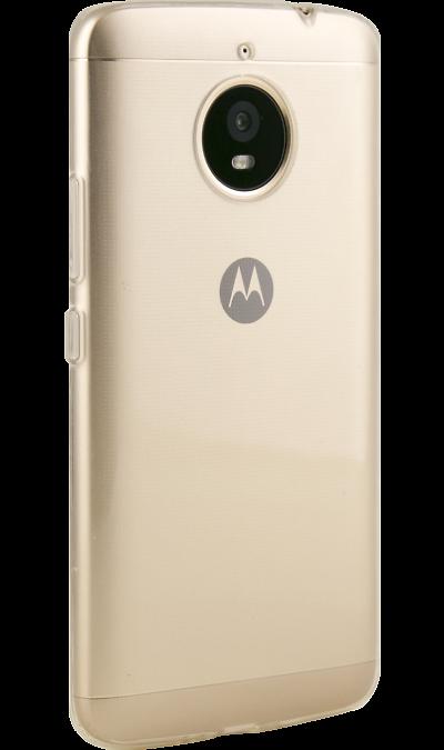 Чехол-крышка Inter-Step  IS Slender для Motorola Moto E4+, силикон, прозрачныйЧехлы и сумочки<br>Чехол Inter-Step поможет не только защитить ваш Motorola Moto E4+  от повреждений, но и сделает обращение с ним более удобным, а сам аппарат будет выглядеть еще более элегантным.<br>