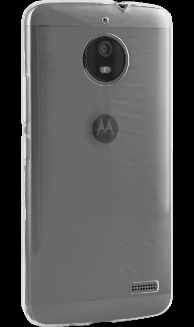 Inter-Step Чехол-крышка Inter-Step IS Slender для Motorola Moto E4, силикон, прозрачный монопод inter step mp 115a black
