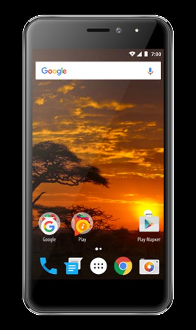VERTEX Impress Lion 4GСмартфоны<br>2G, 3G, 4G, Wi-Fi; ОС Android; Дисплей сенсорный емкостный 16,7 млн цв. 5; Камера 8 Mpix, AF; Разъем для карт памяти; MP3, FM,  GPS; Время работы 320 ч. / 12.0 ч.; Вес 160 г.<br><br>Colour: Серый