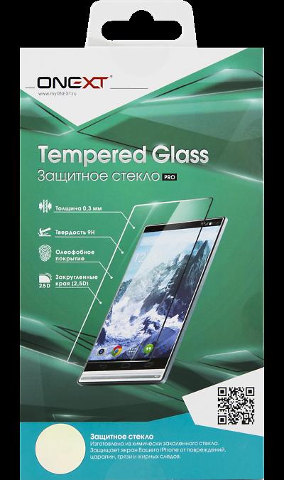 Защитное стекло One-XT для ZTE Blade A610Защитные стекла и пленки<br>Качественное защитное стекло прекрасно защищает дисплей от царапин и других следов механического воздействия. Оно не содержит клеевого слоя и крепится на дисплей благодаря эффекту электростатического притяжения.<br>