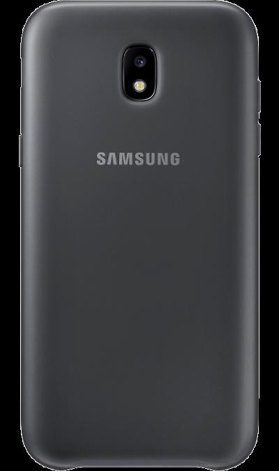 Чехол-крышка Samsung для Galaxy J3 (2017), пластик, черныйЧехлы и сумочки<br>Чехол Samsung поможет не только защитить ваш Samsung Galaxy J3 (2017) от повреждений, но и сделает обращение с ним более удобным, а сам аппарат будет выглядеть еще более элегантным.<br><br>Colour: Черный