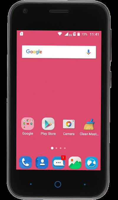 ZTE Blade L110Смартфоны<br>2G, 3G, Wi-Fi; ОС Android; Дисплей сенсорный емкостный 16,7 млн цв. 4; Камера 5 Mpix; Разъем для карт памяти; MP3, FM,  GPS; Вес 117 г.<br><br>Colour: Черный