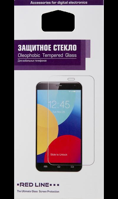 Защитное стекло RedLine для Samsung Galaxy J3 (2016)Защитные стекла и пленки<br>Качественное защитное стекло прекрасно защищает дисплей от царапин и других следов механического воздействия. Оно не содержит клеевого слоя и крепится на дисплей благодаря эффекту электростатического притяжения.<br>