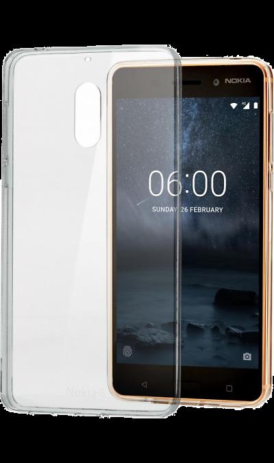 Чехол-крышка Nokia для Nokia 6, силиконЧехлы и сумочки<br>Чехол поможет не только защитить ваш смартфон от повреждений, но и сделает обращение с ним более удобным, а сам аппарат будет выглядеть еще более элегантным.<br>