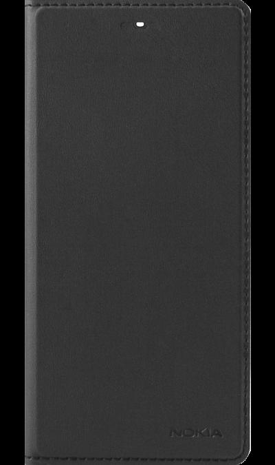 Чехол-книжка Nokia для Nokia 5, кожзам, черныйЧехлы и сумочки<br>Элегантный чехол-книжка для Nokia Lumia 5. Прекрасно защитит ваш телефон от ударов, царапин и трещин.<br><br>Colour: Черный