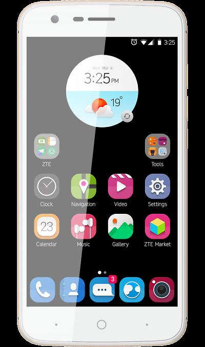 ZTE ZTE Blade V8 Lite Gold смартфон zte blade a510 серый 5 8 гб lte wi fi gps 3g